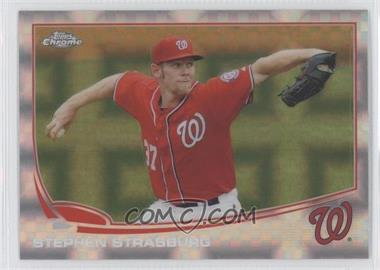 2013 Topps Chrome - [Base] - X-Fractor #50 - Stephen Strasburg