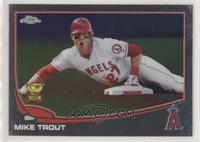 Mike Trout (Sliding)