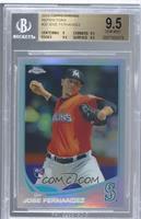 Jose Fernandez (Mariners Logo Incorrectly Pictured) [BGS 9.5 GEM …