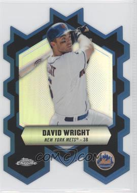 2013 Topps Chrome - Chrome Connections Die-Cuts #CC-DW - David Wright