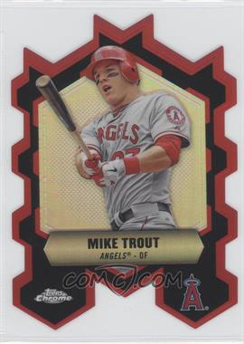 2013 Topps Chrome - Chrome Connections Die-Cuts #CC-MT - Mike Trout