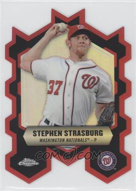 2013 Topps Chrome - Chrome Connections Die-Cuts #CC-SS - Stephen Strasburg