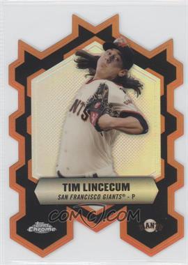 2013 Topps Chrome - Chrome Connections Die-Cuts #CC-TL - Tim Lincecum