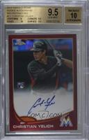 Christian Yelich [BGS 9.5 GEM MINT] #/25