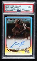Christian Yelich [PSA 9 MINT] #/75