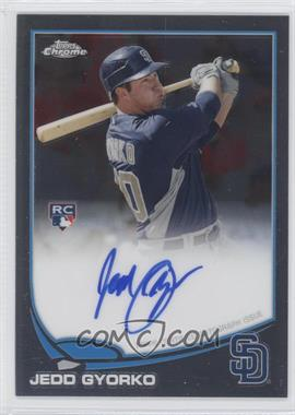 2013 Topps Chrome - Rookie Certified Autographs - [Autographed] #178 - Jedd Gyorko
