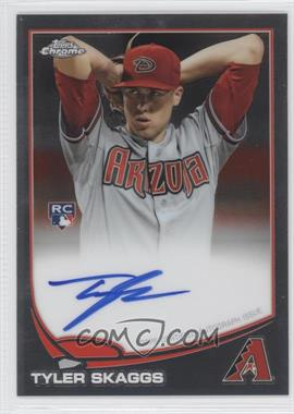2013 Topps Chrome - Rookie Certified Autographs - [Autographed] #88 - Tyler Skaggs