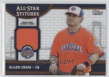 2013 Topps Chrome Update - All-Star Stitches #ASR-AC - Allen Craig