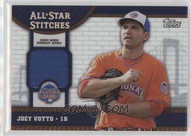 2013 Topps Chrome Update - All-Star Stitches #ASR-JVO - Joey Votto