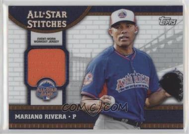 2013 Topps Chrome Update - All-Star Stitches #ASR-MR - Mariano Rivera