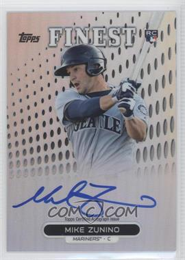 2013 Topps Finest - Autograph Rookie Refractor #RA-MZ - Mike Zunino