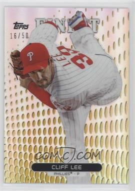 2013 Topps Finest - [Base] - Gold Refractor #28 - Cliff Lee /50