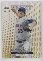 Matt Harvey #/50