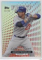 Adrian Gonzalez #11/25