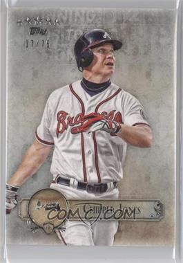 2013 Topps Five Star - [Base] #88 - Chipper Jones /75