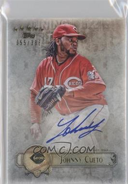 2013 Topps Five Star - Retired and Active Player Autographs #FSBA-JC - Johnny Cueto /386