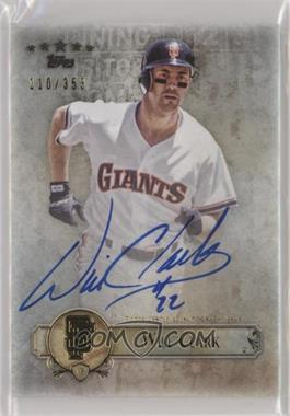 2013 Topps Five Star - Retired and Active Player Autographs #FSBA-WC - Will Clark /353