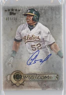 2013 Topps Five Star - Retired and Active Player Autographs #FSBA-YC - Yoenis Cespedes /353