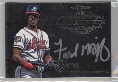 2013 Topps Five Star - Silver Signatures #FSSS-FM - Fred McGriff /65