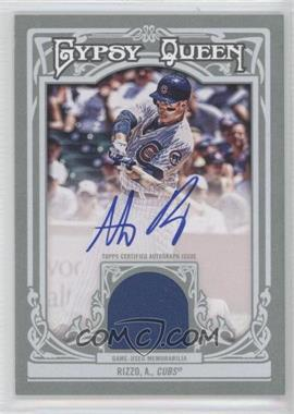 2013 Topps Gypsy Queen - Autographed Relics - [Autographed] #AR-AR - Anthony Rizzo /25
