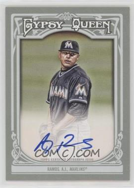 2013 Topps Gypsy Queen - Autographs - [Autographed] #GQA-ARA - A.J. Ramos