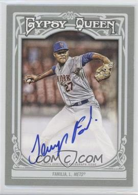 2013 Topps Gypsy Queen - Autographs - [Autographed] #GQA-JF - Jeurys Familia