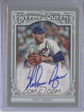 2013 Topps Gypsy Queen - Autographs - [Autographed] #GQA-NR - Nolan Ryan