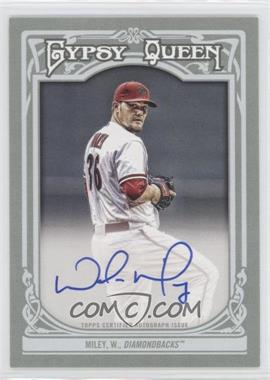 2013 Topps Gypsy Queen - Autographs - [Autographed] #GQA-WM - Wade Miley