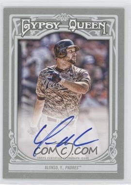 2013 Topps Gypsy Queen - Autographs - [Autographed] #GQA-YA - Yonder Alonso
