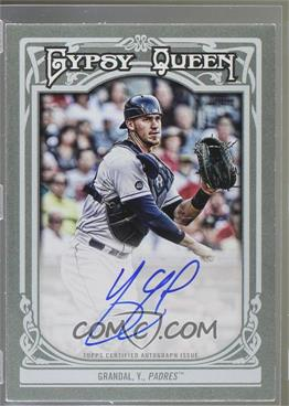 2013 Topps Gypsy Queen - Autographs - [Autographed] #GQA-YGR - Yasmani Grandal