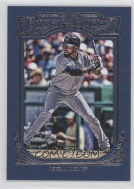 2013 Topps Gypsy Queen - [Base] - Blue Framed #247 - Jose Reyes /499