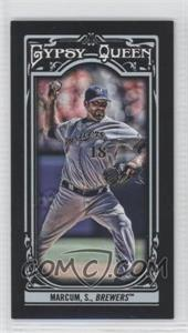2013 Topps Gypsy Queen - [Base] - Mini Black #139 - Shaun Marcum /199