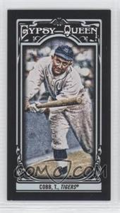 2013 Topps Gypsy Queen - [Base] - Mini Black #155 - Ty Cobb /199