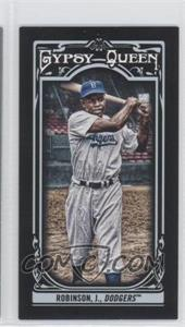 2013 Topps Gypsy Queen - [Base] - Mini Black #260 - Jackie Robinson /199