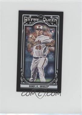 2013 Topps Gypsy Queen - [Base] - Mini Black #41 - Dylan Bundy /199