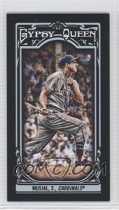 2013 Topps Gypsy Queen - [Base] - Mini Black #87 - Stan Musial /199