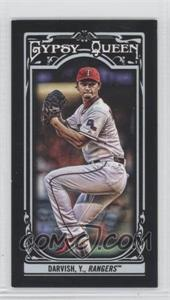 2013 Topps Gypsy Queen - [Base] - Mini Black #99 - Yu Darvish /199