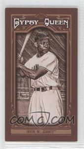 2013 Topps Gypsy Queen - [Base] - Mini Sepia-Tone #106 - Monte Irvin /50