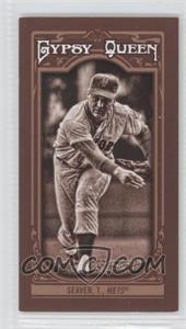 2013 Topps Gypsy Queen - [Base] - Mini Sepia-Tone #149 - Tom Seaver /50