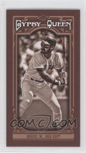 2013 Topps Gypsy Queen - [Base] - Mini Sepia-Tone #158 - Wade Boggs /50