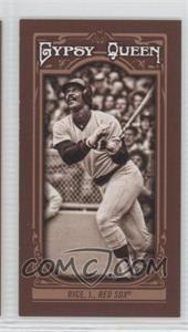 2013 Topps Gypsy Queen - [Base] - Mini Sepia-Tone #280 - Jim Rice /50