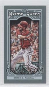 2013 Topps Gypsy Queen - [Base] - Mini #100.1 - Bryce Harper