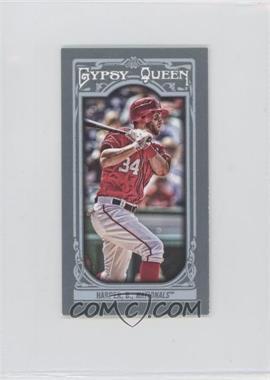2013 Topps Gypsy Queen - [Base] - Mini #100.2 - Bryce Harper