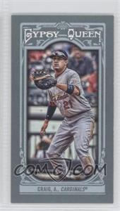 2013 Topps Gypsy Queen - [Base] - Mini #105.2 - Allen Craig