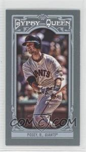 2013 Topps Gypsy Queen - [Base] - Mini #110.2 - Buster Posey