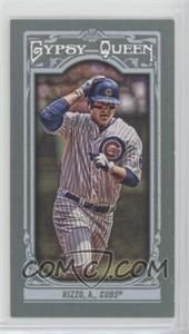 2013 Topps Gypsy Queen - [Base] - Mini #11.2 - Anthony Rizzo