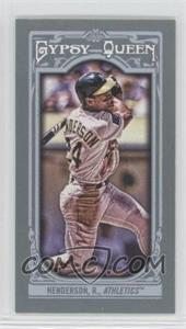 2013 Topps Gypsy Queen - [Base] - Mini #121.2 - Rickey Henderson
