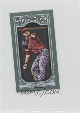 2013 Topps Gypsy Queen - [Base] - Mini #14.1 - Mike Trout