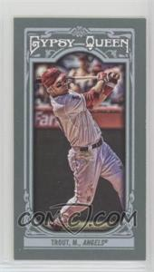 2013 Topps Gypsy Queen - [Base] - Mini #14.2 - Mike Trout