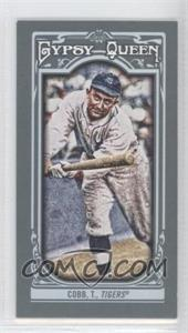 2013 Topps Gypsy Queen - [Base] - Mini #155.1 - Ty Cobb
